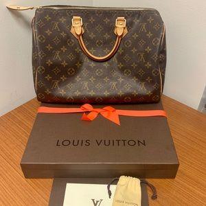 Authentic Louis Vuitton Speedy 35 *NO TRADES*